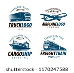 shipping  transportation logo... | Shutterstock .eps vector #1170247588