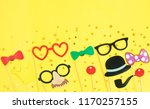 photo props for celebration on...   Shutterstock . vector #1170257155