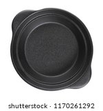 empty black bowl isolated on... | Shutterstock . vector #1170261292