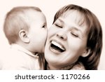 mother and baby | Shutterstock . vector #1170266