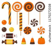 assortment of colorful... | Shutterstock .eps vector #1170272038