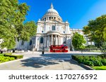 st pauls cathedral in london | Shutterstock . vector #1170276592