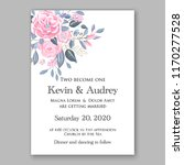 wedding invitation abstract... | Shutterstock .eps vector #1170277528