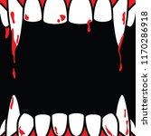 halloween square frame blank... | Shutterstock .eps vector #1170286918