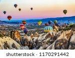 goreme  turkey   april 6  2016  ... | Shutterstock . vector #1170291442