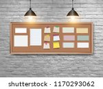 Vector Illustration Board With...