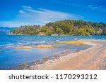 beautiful view to calafquen... | Shutterstock . vector #1170293212