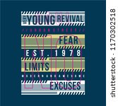 young revival typography... | Shutterstock .eps vector #1170302518