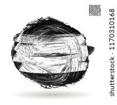 grey brush stroke and texture.... | Shutterstock .eps vector #1170310168