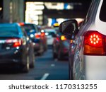 close up of tail light of a car ... | Shutterstock . vector #1170313255
