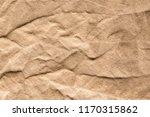 canvas brown creases texture... | Shutterstock . vector #1170315862