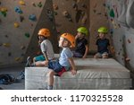 Children In The Climbing Gym