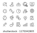set of work icons  such as... | Shutterstock .eps vector #1170342805
