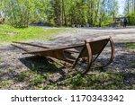 sledge for transportation of... | Shutterstock . vector #1170343342