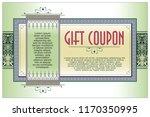 vector template flyer ... | Shutterstock .eps vector #1170350995