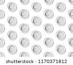 line rose floral pattern... | Shutterstock .eps vector #1170371812