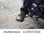 sit on your motorcycle and... | Shutterstock . vector #1170372565