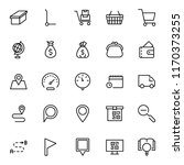 electronic commerce flat icon...   Shutterstock .eps vector #1170373255