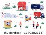 flat vector illustration... | Shutterstock .eps vector #1170382315