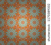 oriental style for fabric.... | Shutterstock .eps vector #1170389332