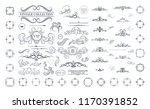 vintage decor elements and... | Shutterstock .eps vector #1170391852