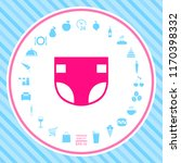 nappy icon symbol | Shutterstock .eps vector #1170398332