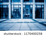 empty pavement front of the... | Shutterstock . vector #1170400258