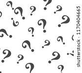 question mark pattern. question ... | Shutterstock .eps vector #1170404665