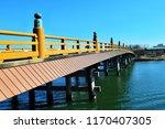 Japanese traditional bridge...
