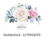vector vintage floral... | Shutterstock .eps vector #1170426292