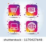 online shopping icons. notebook ...   Shutterstock .eps vector #1170427648