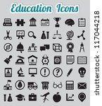 set of 50 education icons  ...   Shutterstock .eps vector #117044218