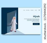 hijrah illustration of new...   Shutterstock .eps vector #1170444292