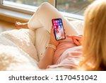 riga  latvia   july 21  2018 ... | Shutterstock . vector #1170451042
