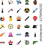 vector icon set   slingshot... | Shutterstock .eps vector #1170456232