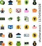 vector icon set   contract... | Shutterstock .eps vector #1170456328