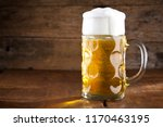 beer and pretzel  oktoberfest | Shutterstock . vector #1170463195