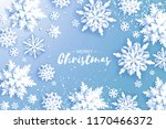 merry christmas and happy new... | Shutterstock .eps vector #1170466372