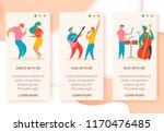 3 vertical web banners of... | Shutterstock .eps vector #1170476485