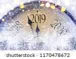 countdown to midnight. retro... | Shutterstock . vector #1170478672