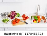 high angle view of ripe... | Shutterstock . vector #1170488725
