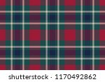 tartan plaid fabric texture... | Shutterstock .eps vector #1170492862