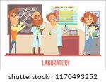 scientists characters... | Shutterstock .eps vector #1170493252
