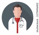 vector medical icon doctor.... | Shutterstock .eps vector #1170496402