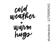 cold weather and warm hugs   Shutterstock .eps vector #1170509242