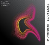 abstract curved lines shape... | Shutterstock .eps vector #1170512368