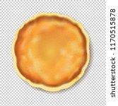 pancake isolated transparent...   Shutterstock .eps vector #1170515878