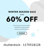 60  off special offer price... | Shutterstock .eps vector #1170518128