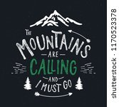 mountains typography. textured... | Shutterstock .eps vector #1170523378