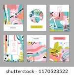 contemporary universal placards.... | Shutterstock .eps vector #1170523522